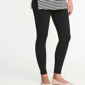 NWT*Gap Maternity GFast Full Panel Performance Cotton Legging*Black*Sz:M**$49.95